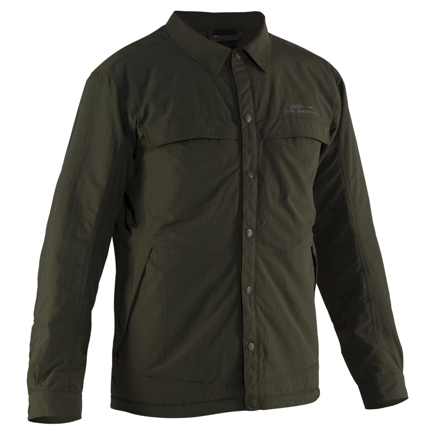 Dawn Patrol Jacket Olive Front View