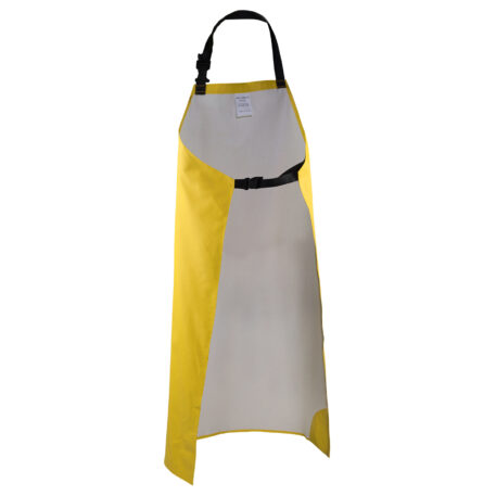 Clipper Apron Yellow Back View