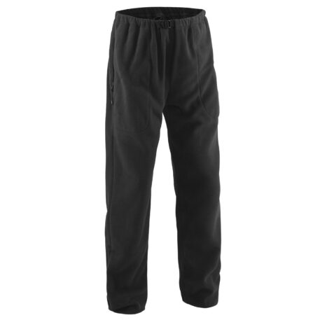 Bering Sea Fleece Pant Black Front View
