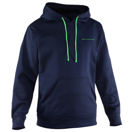 Fogbow Hoodie Navy Front View