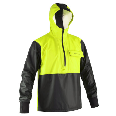 Neptune 103 Anorak Pullover Yellow Front View