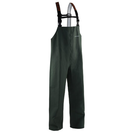 Nordan 28 Bib Pants Green Front View