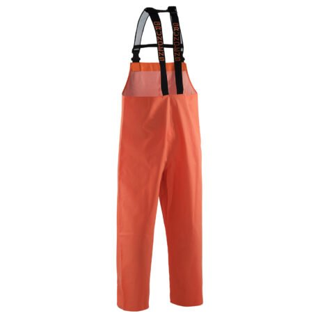 Nordan 28 Bib Pants Orange Back View