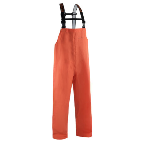 Nordan 28 Bib Pants Orange Front View