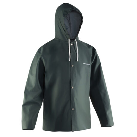Nordan 82 Hooded Parka Green Front View