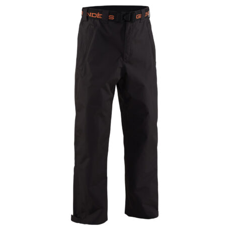 Weather Watch Pants Black Front View