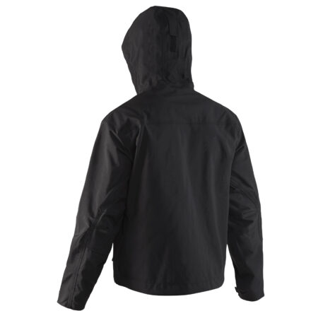 Weather Boss Hooded Jacket Black Back View