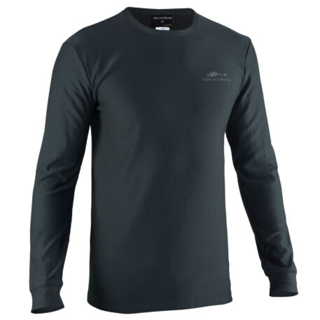 Grundies Base Layer Crew Top Front View