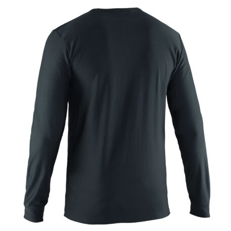 Grundies Base Layer Crew Top Back View