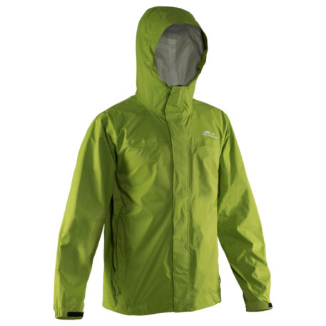 Storm Runner Jacket Green Front View