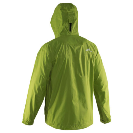 Storm Runner Jacket Green Back View