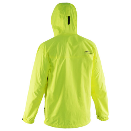 Storm Runner Jacket HiVis Back View