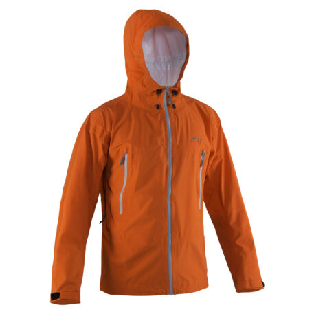 Stormlight Jacket Orange Front View