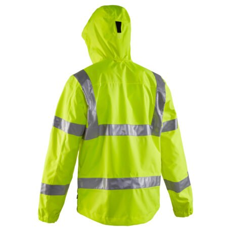 Weather Watch Hooded Jacket ANSI Back View
