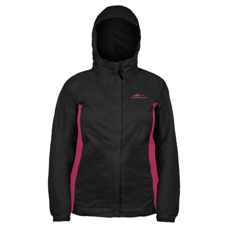 Womens Weather Watch Jacket Black Front