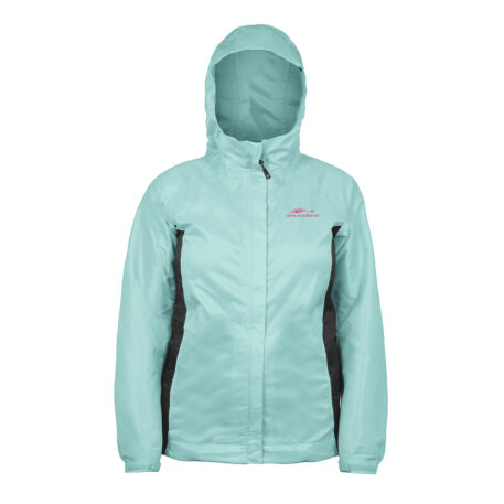 Womens Weather Watch Jacket Blue Front