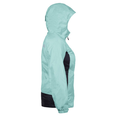 Womens Weather Watch Jacket Blue Side View