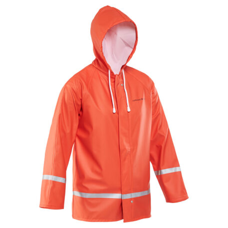 Zenith 282 Hooded Parka Orange Front View