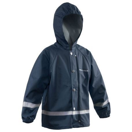 Zenith 293 Hooded Parka Navy Front View