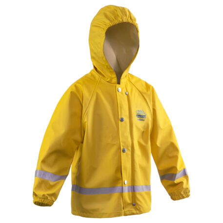 Zenith 293 Hooded Parka Yellow Front View